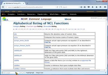 NCL官方網頁導覽- NCAR command language workshop | U camdemy